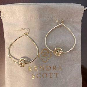 Presleigh Love Knot Open Frame Earrings